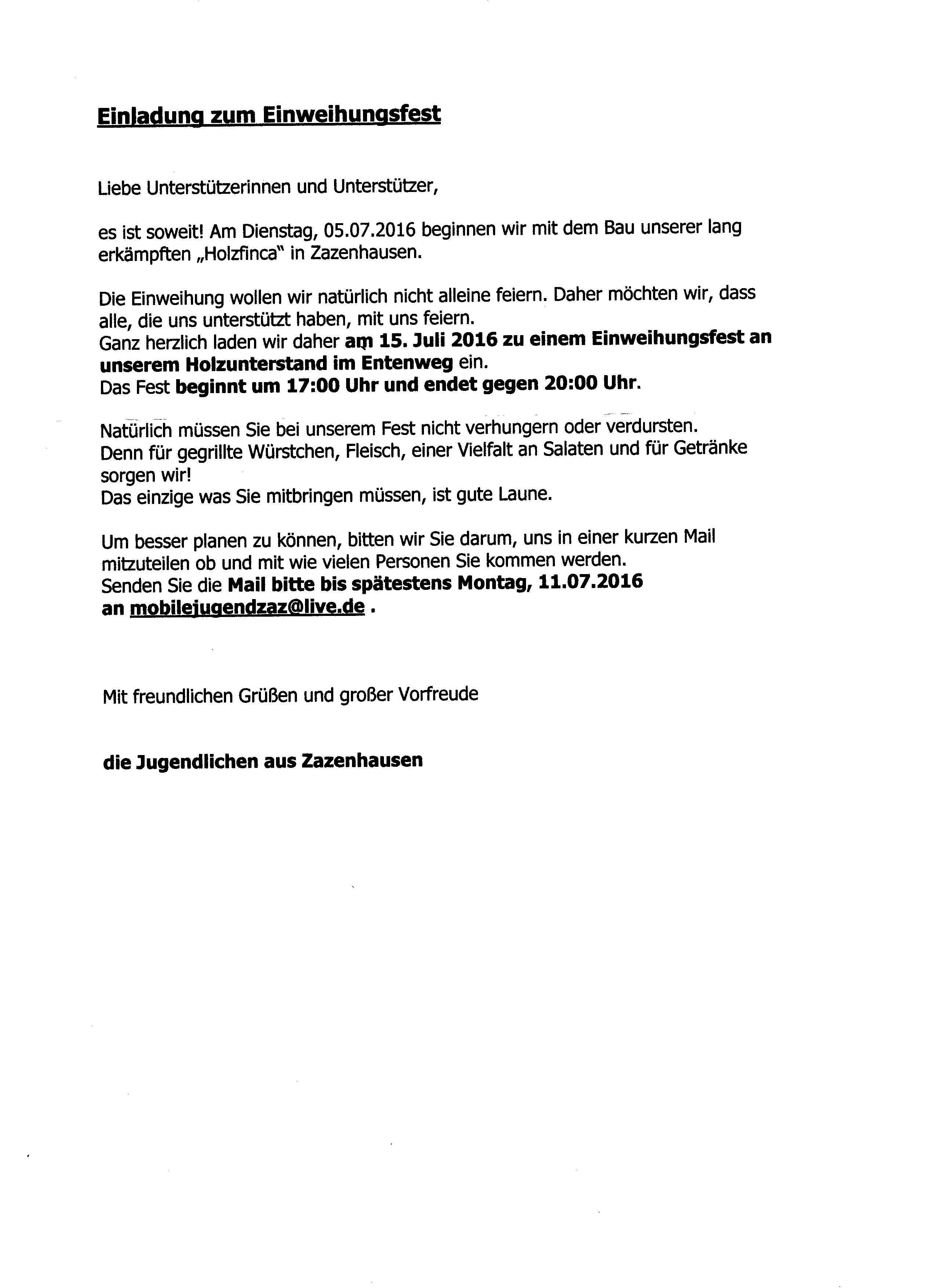 Groß Politische Spendenaktion Einladungsvorlage Ideen - Beispiel ...